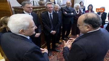 1 - Mattarella alla cerimonia di inaugurazione dell'anno accademico della Sapienza, le immagini