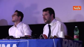 7 - Salvini presenta la campagna elettorale in Campania, le immagini