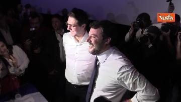 8 - Salvini presenta la campagna elettorale in Campania, le immagini