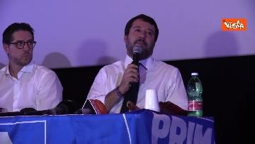4 - Salvini presenta la campagna elettorale in Campania, le immagini