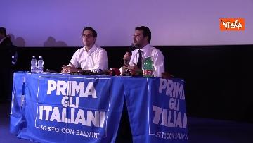 2 - Salvini presenta la campagna elettorale in Campania, le immagini
