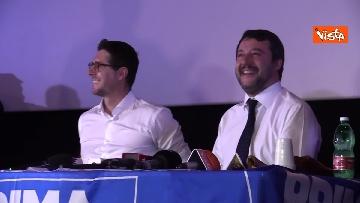 6 - Salvini presenta la campagna elettorale in Campania, le immagini