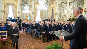 5 - Mattarella incontra rappresentanza Polizia di Stato al Quirinale