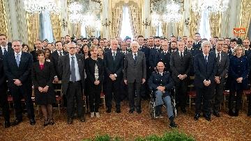 11 - Mattarella incontra rappresentanza Polizia di Stato al Quirinale