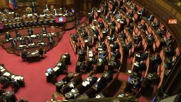 10 - Conte in Aula Senato riferisce su emergenza coronavirus, immagini