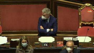 6 - Conte in Aula Senato riferisce su emergenza coronavirus, immagini