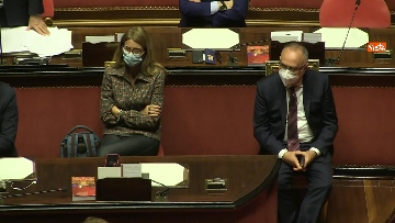 8 - Conte in Aula Senato riferisce su emergenza coronavirus, immagini