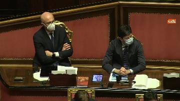 5 - Conte in Aula Senato riferisce su emergenza coronavirus, immagini