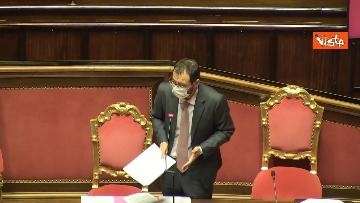 4 - Question time al Senato con il ministro Patuanelli. Le foto della seduta