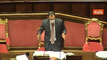 11 - Question time al Senato con il ministro Patuanelli. Le foto della seduta