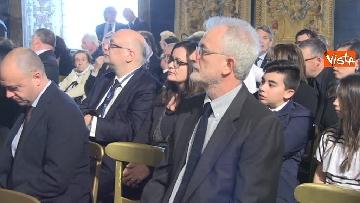 9 - Giornata vittime del terrorismo, la cerimonia al Quirinale