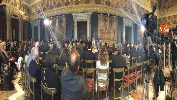 12 - Giornata vittime del terrorismo, la cerimonia al Quirinale