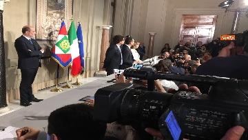 13 - Di Maio guida la delegazione M5s al Quirinale con Toninelli e Giulia Grillo