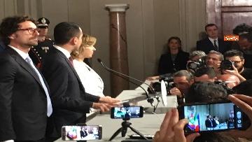 4 - Di Maio guida la delegazione M5s al Quirinale con Toninelli e Giulia Grillo