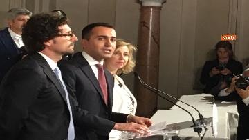 9 - Di Maio guida la delegazione M5s al Quirinale con Toninelli e Giulia Grillo