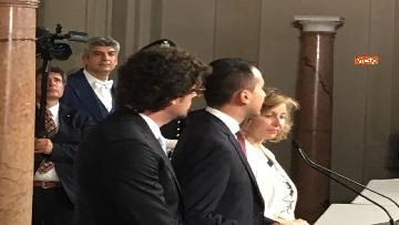 7 - Di Maio guida la delegazione M5s al Quirinale con Toninelli e Giulia Grillo