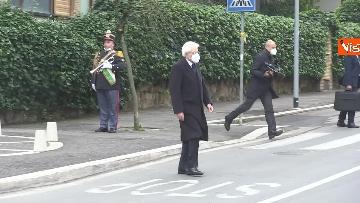10 - Rapimento Moro, Mattarella rende omaggio alla lapide di Via Fani. Le immagini
