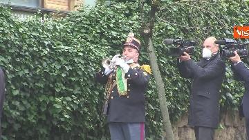 7 - Rapimento Moro, Mattarella rende omaggio alla lapide di Via Fani. Le immagini