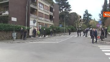 8 - Rapimento Moro, Mattarella rende omaggio alla lapide di Via Fani. Le immagini