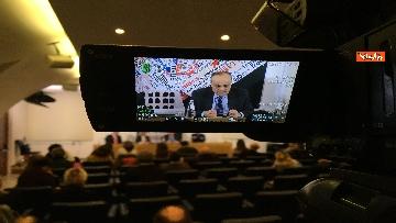5 - Bonisoli in conferenza stampa alla sede romana della stampa estera, immagini