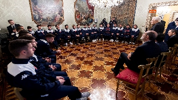 4 - Mattarella incontra l'ambasciatore francese Masset al Quirinale