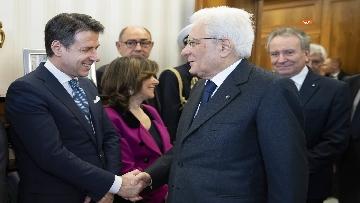 1 - Mattarella, Conte e Casellati all'inaugurazione dell'Anno Giudiziario della Corte dei Conti