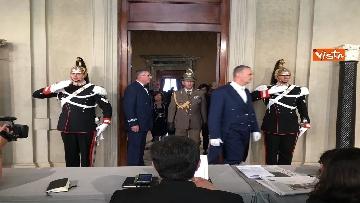 15 - Fico e Casellati al Quirinale per le Consultazioni con il Presidente della Repubblica Mattarella