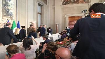 14 - Fico e Casellati al Quirinale per le Consultazioni con il Presidente della Repubblica Mattarella