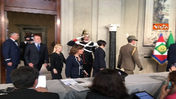 9 - Fico e Casellati al Quirinale per le Consultazioni con il Presidente della Repubblica Mattarella