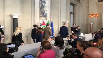 12 - Fico e Casellati al Quirinale per le Consultazioni con il Presidente della Repubblica Mattarella