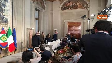 17 - Fico e Casellati al Quirinale per le Consultazioni con il Presidente della Repubblica Mattarella