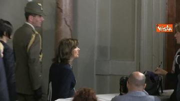 6 - Fico e Casellati al Quirinale per le Consultazioni con il Presidente della Repubblica Mattarella