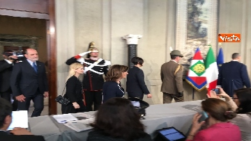 10 - Fico e Casellati al Quirinale per le Consultazioni con il Presidente della Repubblica Mattarella