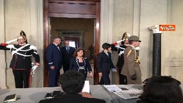 8 - Fico e Casellati al Quirinale per le Consultazioni con il Presidente della Repubblica Mattarella