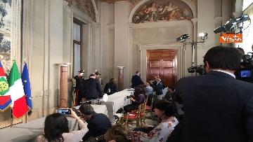 16 - Fico e Casellati al Quirinale per le Consultazioni con il Presidente della Repubblica Mattarella