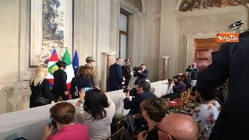 13 - Fico e Casellati al Quirinale per le Consultazioni con il Presidente della Repubblica Mattarella