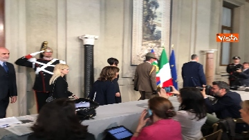 11 - Fico e Casellati al Quirinale per le Consultazioni con il Presidente della Repubblica Mattarella