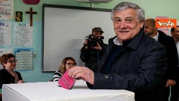 4 - Europee, il voto di Tajani