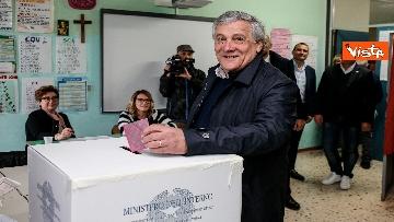 2 - Europee, il voto di Tajani