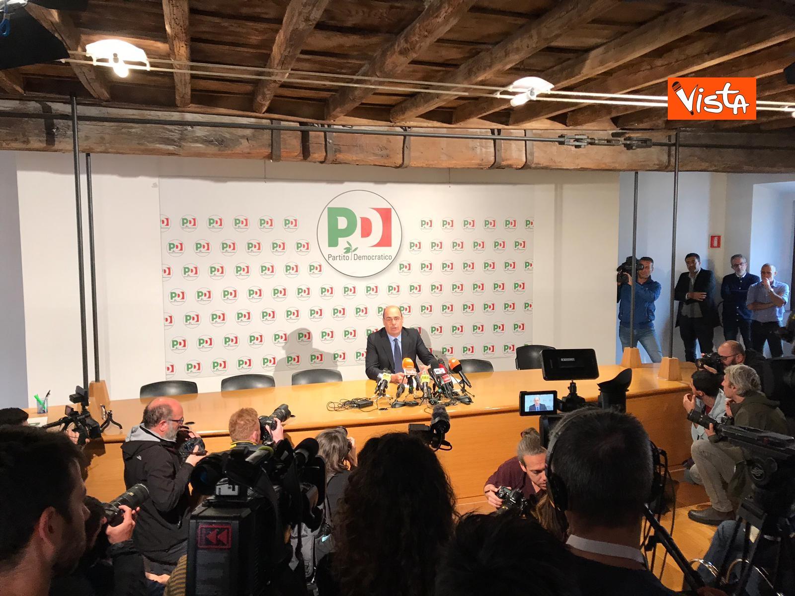 Zingaretti incontra la stampa al Nazareno_03