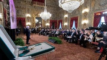 5 - Il Presidente Mattarella incontra i vertici del Polo romano delle Nazioni Unite