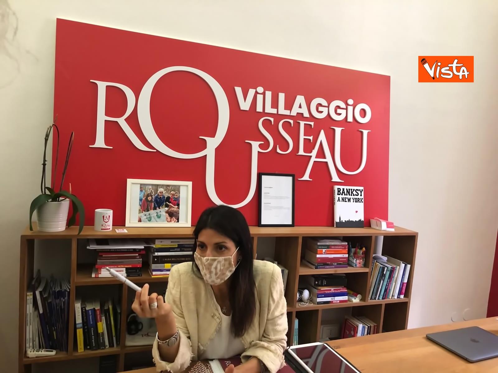 25-07-20 M5s, Raggi al Villaggio Rousseau_02