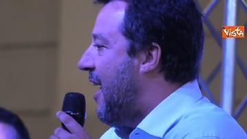 4 - Il comizio del ministro dell'Interno Matteo Salvini a Torino