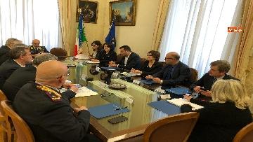 2 - Salvini al Comitato per l'ordine e la sicurezza su sgombero campo rom a Giugliano
