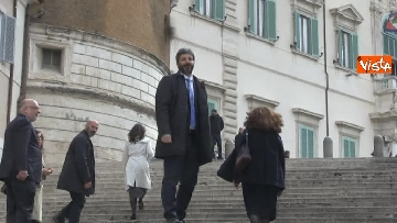 10 - Roberto Fico raggiunge il Quirinale a piedi