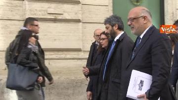 5 - Roberto Fico raggiunge il Quirinale a piedi