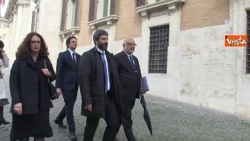4 - Roberto Fico raggiunge il Quirinale a piedi