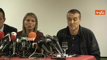 1 - Omicidio Sacchi, la conferenza stampa del padre