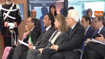 7 - Mattarella alla cerimonia dei 25 anni dell'Istituto di Oncologia dello IEO
