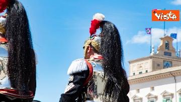 2 - Il cambio della guardia solenne al Quirinale